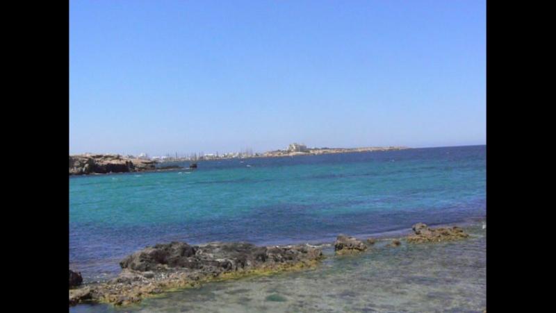 Тунис. Море в пригороде Монастира