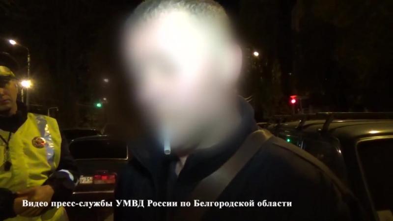 Как водитель пытался сбежать от полиции. От первого лица