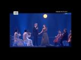 Зара и Андреа Бочелли - Time to say goodbye - La grande storia (Премия МУЗ-ТВ 2017)