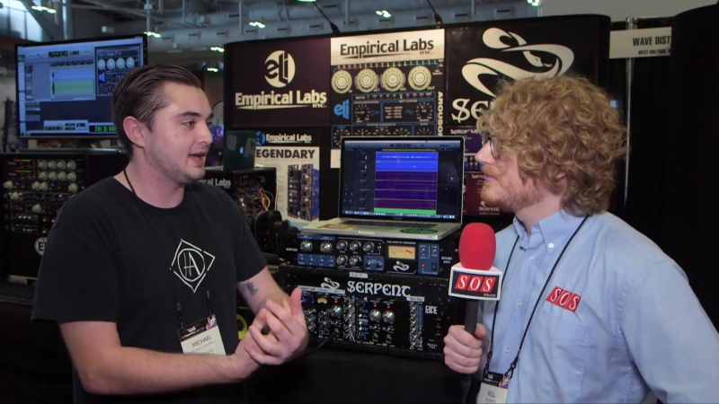 Serpent Audio Splice MkII 500 Series - Summer NAMM 2017