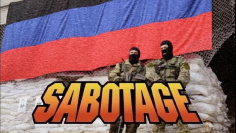 Sabotage in Slovyansk