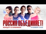 Праздничный митинг-концерт «Россия объединяет» в Москве