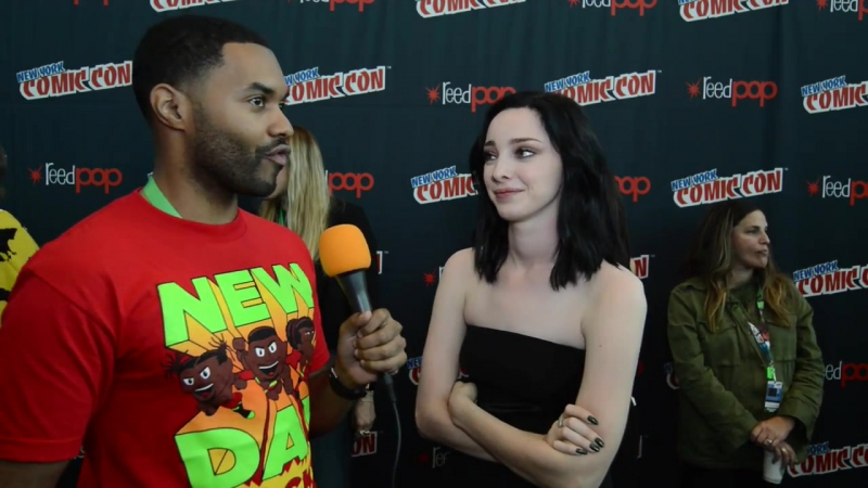NYCC THE GIFTED- Emma Dumont on What Makes Polaris Interesting