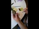 Красим ананас