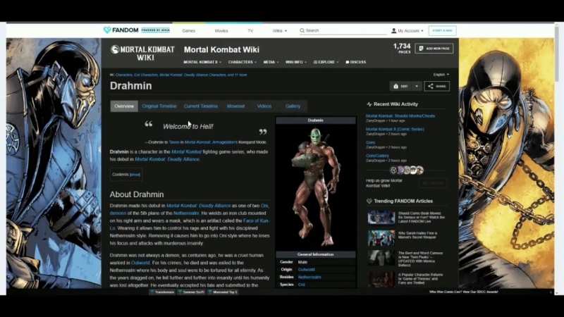 Les jeux vidéos sataniques 20 Spécial jeux de combats