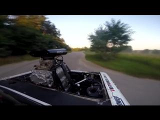 Волга ГАЗ 24 Overpower / V8 с турбонагнетателем