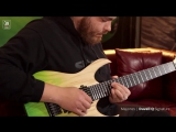 John Browne и его новый подписной инструмент Mayones Duvell Q Summer Moss 7