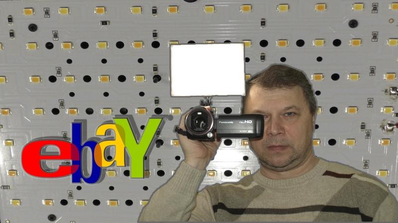Популярный бюджетный накамерный свет YongNuo YN 300 AIR PRO Что внутри؟ Посылка с eBay