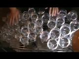 Саундтрек из Гарри Поттера исполненный на хрустальных бокалах