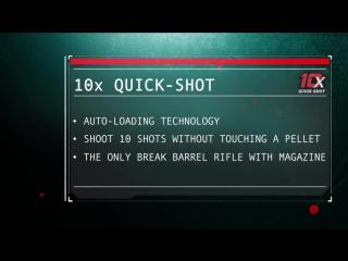 10-зарядная пневматическая винтовка Gamo Replay X Maxxim