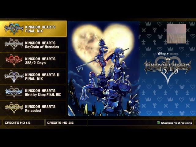 Kingdom Hearts - PS4 Pro часть 6 difficulty: Proud (Hard) [RUS-afin]