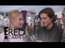 Saoirse Ronan & Timothee Chalamet Talk Names Being Butchered   E! Live from the Red Carpet