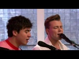 5SOS performing Want You Back on Sunday Brunch!