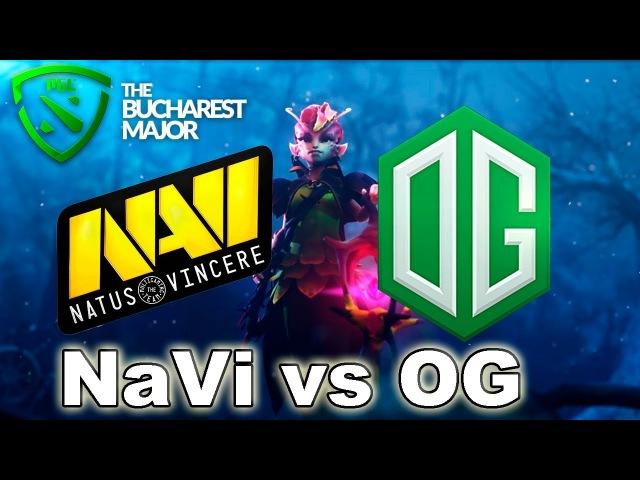 NaVi vs OG The Bucharest Major 2018 Dota 2