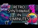 80's RETRO SYNTHWAVE IN 5 MINUTES FL STUDIO