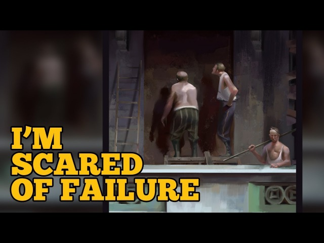 I'm Scared Of Failure - Art Talk Piotr Jablonski Study