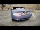 GTA 4 2005 Aston Martin DB9 - Speeding Drift