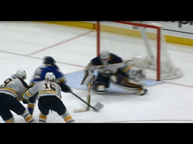Tarasenko gets a bit of help from Lehner for OT winner