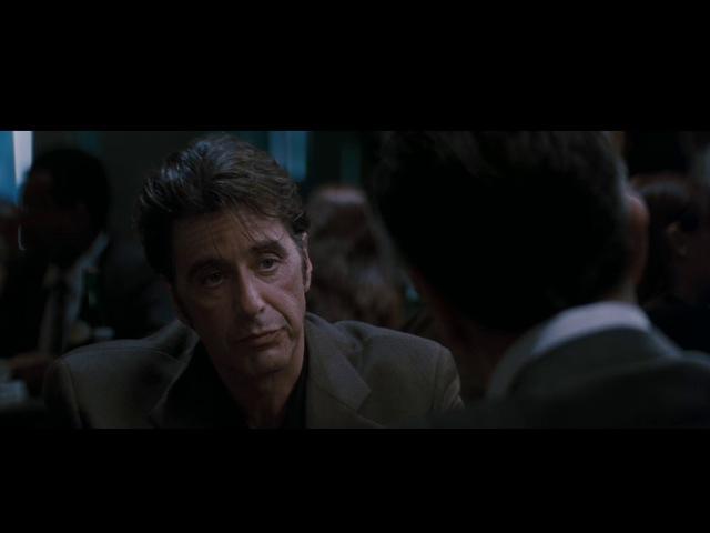 Фильм Схватка Heat Аль Пачино против Роберта Де Ниро разговор