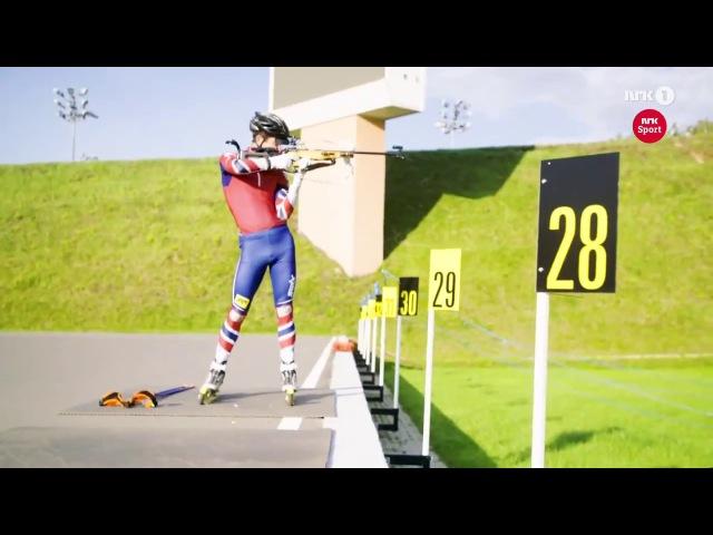 Уле Эйнар Бьёрндален - тренировки (октябрь 2017) - Athletics 3D