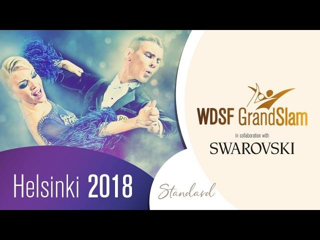 Francesco Galuppo Debora Pacini ITA 2018 GS STD Helsinki R2 W DanceSport Total