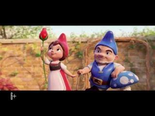 Шерлок Гномс (Gnomeo & Juliet: Sherlock Gnomes, трейлер, дублированный, русский) 2018