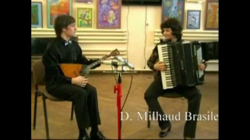 Alexey Buryakov and Evgenia Buryakova D. Milhaud Brasileira from Scaramouche