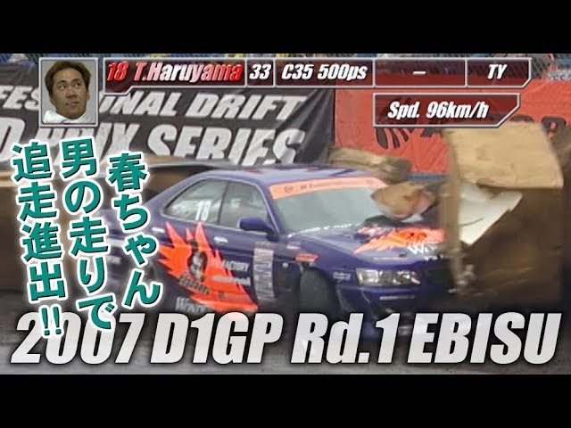 Video Option VOL.158 — D1GP 2007 Rd.1 at Ebisu Circuit: Tanso.