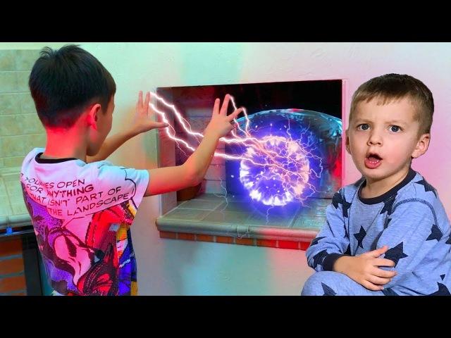Артур НАШЕЛ Волшебную Печь! Что можно заказать? Для Детей Kids Children