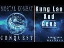 UNFACES - KUNG LAO AND GENE_Ost Mortal Kombat. Conquest. 1998.