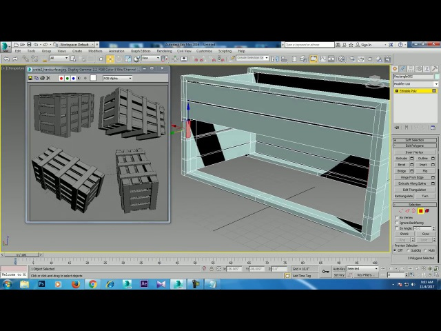 Tutorial on Modeling props in 3dsmax ( For Beginners )