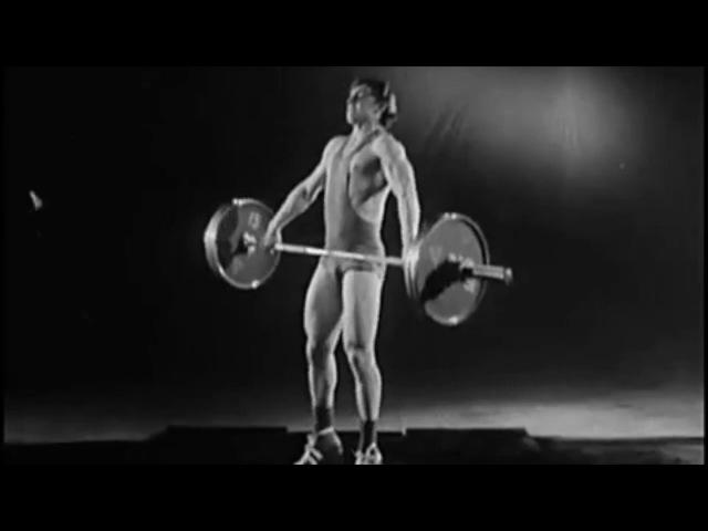 1985г. Тяжелая Атлетика. СССР фильм Обучение технике рывка