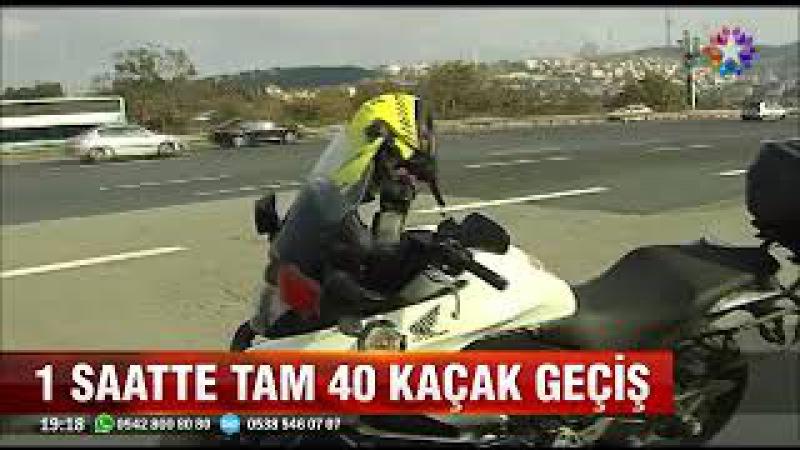 İstanbul'da kaçak geçişlerin yeni adresi 15 Temmuz köprüsü