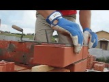 Кирпичная кладка вертикальной штробы (облицовка) - [© masterkladki] rbhgbxyfz rkflrf dthnbrfkmyjq inhj,s (j,kbwjdrf) - [© master