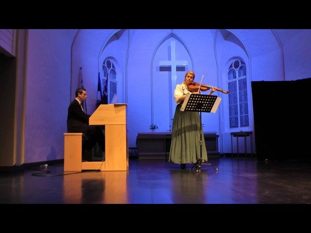 История виоль д'амур. Ariosti. Sonata for the Viola d'Amour.
