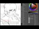 Ilya Kuvshinov - Photoshop a manga character