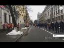 Люди з мітингу на підтримку Саакашвілі прийшли під ВР