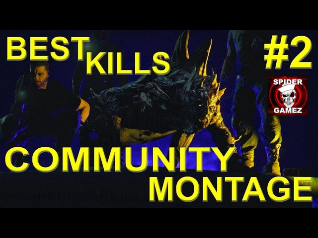 Dying Light PvP - Community Kill Montage Part 2 (Best Night Hunter Kills Of The DL Community)