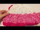 Невероятной красоты кардиган вязаный косами /часть3 рукав/идеальный окат