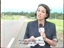 Reportagem SPTV sobre marcha do MST em Presidente Prudente e bloqueio da rodovia