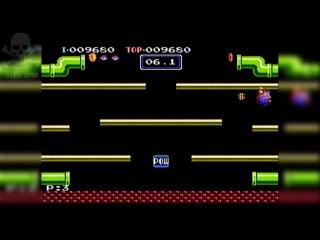 [Famiclone-PAL]LA01 Mario Bros - Gameplay