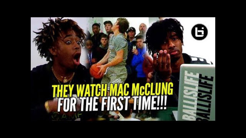 THEY WATCH MAC McCLUNG FOR THE FIRST TIME! Kaden Archie Ballislife Reaction!