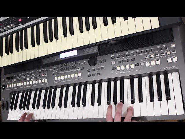 Новый Стиль Миллион Алых Роз Алла Пугачёва на синтезаторе Yamaha psr s670