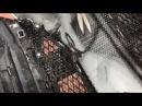 Хонда Пилот сетка радиатора защитная установка в бампер от камней и прочих пре