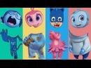 Wrong Heads Pj Masks Sadness Kate Mim mim Finger Family Learn Colors Nursery Rhyme For Kids