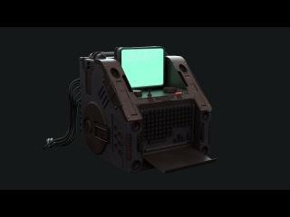 Mops boolean Kit for modo Timelapse Retro Scifi computer