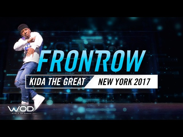 Kida the Great   FrontRow   World of Dance New York 2017   WODNY17   Danceproject.info