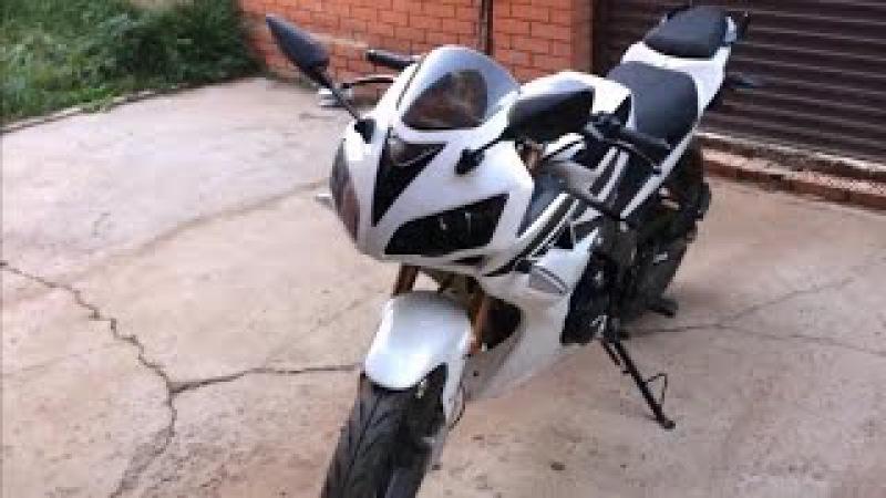 Очень клевый обзор на мою спортуху | Обзор на мотоцикл Patron sport 200