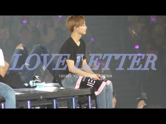 180222 요코하마 세븐틴 SEVENTEEN LOVE LETTER (Japanese Ver)정한 직캠 Jeonghan Focus