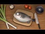 Рыба Фугу   бесплатные мультики 2015